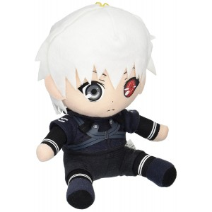 "Great Eastern Entertainment Tokyo Ghoul-Kaneki Collectible Plush Toy, 7"""