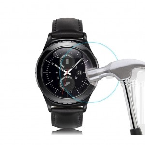 [2 Pack] Gear S2 Screen Protector, WIMAHA [Tempered Glass] Samsung Gear S2 / Gear S2 Classic Glass Screen Protector [Easy-Install]
