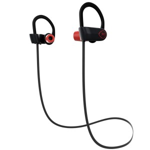 Holidays SALE! Iphone 7 Headphones - The Ultimate Bluetooth Headset Earbuds with HD Sound - Non-Slip, Over-Ear Designed for Athletes and Noise Cancellation - Sweat Resistant Earbuds, IPX7 WaterProof