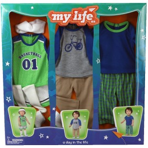 My Life As A Day in the Life Doll Clothing Set, Boy