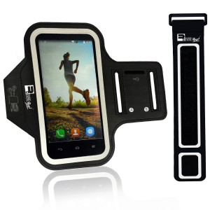 """Samsung Galaxy S7/S6 and iPhone 6/6s Running Armband Phone Holder for X-Small 9""""  - X-Large 20""""  Arms. Sports Case Deisgned for Runners, Gym Workouts and Extreme Exercise"""