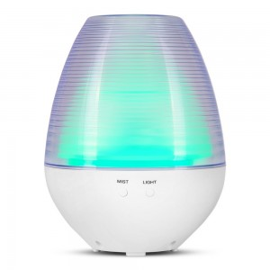 Oil Diffuser, Cool Mist Humidifier 160ml Ultrasonic Aroma Cool Mist Humidifier with 7 Color Light Changing Function And 4 Timer Settings
