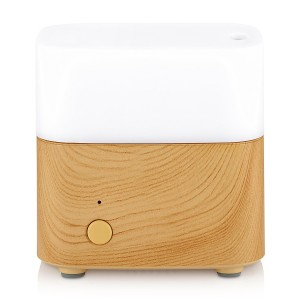 Aromatherapy Essential Oil Diffuser IAD 120 ML Ultrasonic Aroma Humidifier Color Changing Lights Cool Mist For Home Office