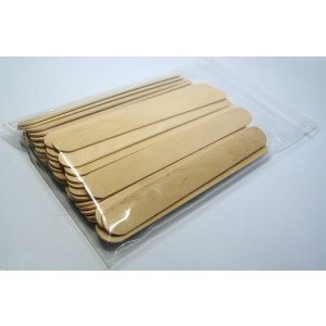 """50 Small Batch Mixing Sticks: (Pack of 50) 6""""  Inch Wood for Paint, Epoxy, or Resin"""
