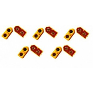 5 Pairs XT60 XT-60 Male Female Bullet Connectors Plugs For High-Amp RC Lipo Battery