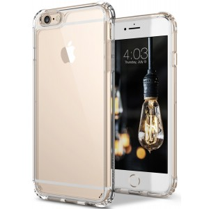 Caseology [Waterfall Series] Case for iPhone 6S Plus / iPhone 6 Plus - Slim Design Fit Clear Drop Protection Cover - (Clear)