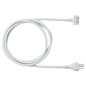 Tesha 6ft Power Adapter Extension Wall Cord Cable for Apple Mac Ibook Macbook Pro Us Plug