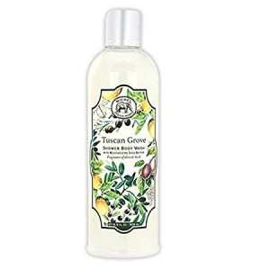 Michel Design Works Olive and Herb Scented Shea Butter Shower Body Wash, Tuscan Grove