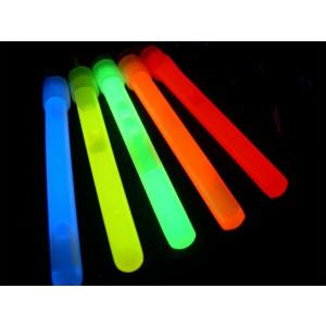 "Glow Sticks Bulk Wholesale, 50 4"" Glow Stick Light Sticks. Assorted Bright Colors, Kids love them! Glow 8-12 Hrs, 2-year Shelf Life, Sturdy Packaging, Glow With Us Brand"
