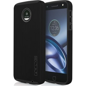 Incipio Motorola Moto Z Play Dualpro Case - Black And Black