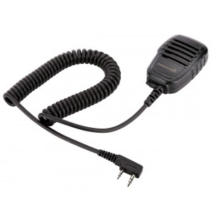 Compact Speaker Mic with Kevlar Reinforced Cable for Baofeng Radio BF-F8HP BF-F9 UV-82 UV-82HP UV-82C UV-5R UV-5R5 UV-5RA UV-5RE UV-5X3 V2+ and TYT Wouxun Kenwood Radio, Shoulder Speaker Microphone