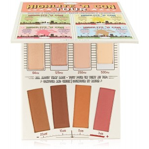 theBalm Highlite 'N Con Tour Highlight and Contour Palette