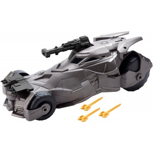 DC Justice League Mega Cannon Batmobile Vehicle, 6""