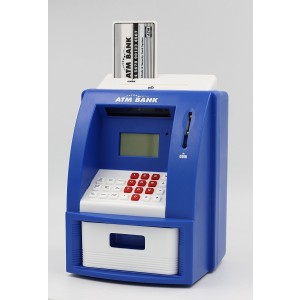 Teller ATM Bank Perfect Toy to Instill Saving Habit