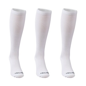 Compression Socks by Footloose - 3 Pack. 15-20 mmHg, Knee-High, Breathable Socks. Prevent Fatigue and Swelling. Ideal for Every Day Use.