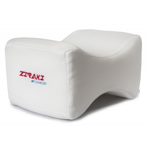 Ziraki Memory Foam Wedge Contour Orthopedic Knee Pillow for Sciatica Nerve Relief, Back, Leg, Hip, and Joint Pain, Leg Support, Spine Alignment, and Pregnancy Cushion