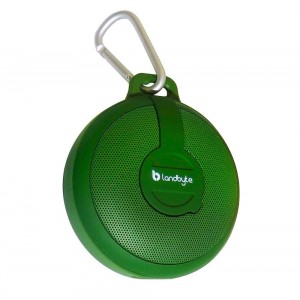 LANDBYTE LB-210 Green Wireless Bluetooth Waterproof, Dustproof, Drop Outdoor Portable Stereo Mini Speaker Subwoofer. Large-Capacity Player, Tablet For All Types Of Mobile Phones
