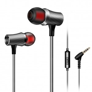HC-RET In-Ear Earbuds Headphones with Mic for all iPhones Samsung Mobiles Tablets MP3 Players and More