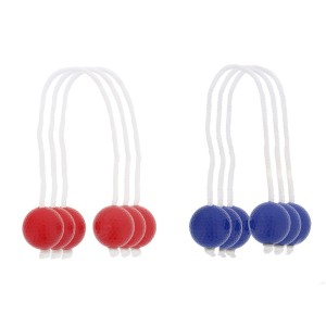 Get Out! Ladder Golf Replacement Strands 6 Pack – 3 Blue 3 Red, Outdoor Game for Hours of Fun, Family Set