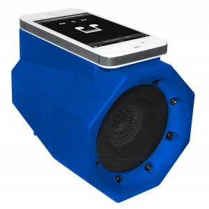 BoomTouch Wireless Touch Portable Speaker Boom Box (As Seen On TV!) Bluetooth Not Required! (Blue)