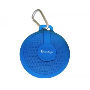 LANDBYTE LB-210 Blue Wireless Bluetooth Waterproof, Dustproof, Drop Outdoor Portable Stereo Mini Speaker Subwoofer. Large-Capacity Player, Tablet For All Types Of Mobile Phones