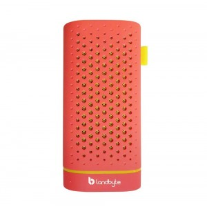 LANDBYTE LB-120 Pink Wireless Bluetooth Speaker 4.0 Mini Portable Outdoor Stereo Phone Charging Treasure Small Built-In 4400 mA