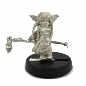 Stonehaven Gnome Cleric Miniature Figure for 28mm Table top Wargames - Made in USA