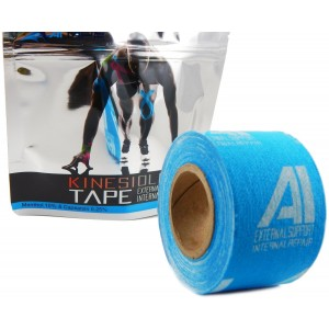 AI Kinesiology Tape (w/ Pain Relief Formula) Repair and Recovery - 2 in x 16 ft - (One Roll)