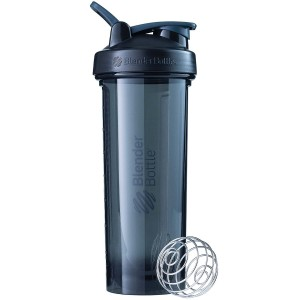 BlenderBottle Pro32 Shaker Bottle, Black, 32-Ounce
