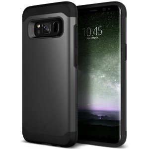 Galaxy S8 Plus Case, Caseology [Legion Series] Heavy Duty Protection Slim Protective Rugged Dual Layer Corner Cushion Design for Samsung Galaxy S8 Plus (2017) - Black