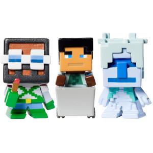 Minecraft Biome Settlers Series Tundra Mini Figure (3 Pack)