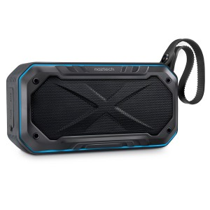 Naztech Cycle Bike Bluetooth Speaker with Bicycle Mount with 8-Hour Playtime, 33-Foot Bluetooth Range and Built-in Mic, Portable Outdoor Use Premium Sound
