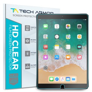 """iPad Pro (10.5"""" ) Screen Protector, Tech Armor High Definition HD-Clear Apple iPad Pro 10.5-inch Film Screen Protector [2-Pack]"""