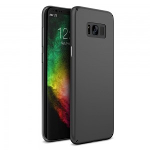 Maxboost Galaxy S8 Plus Case mSnap [Perfect Fit] [Black] Samsung Galaxy S8+ / S8 Plus Case Anti-Slip Matte Coating Excellent Grip Thin Hard Protective PC Cover for Samsung Galaxy s8 plus S8+ 2017