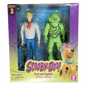 Scooby Doo Series 3 Fred and Captain Cutlers Ghost