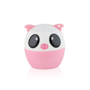 My Audio Pet Mini Bluetooth Animal Wireless Speaker with TRUE WIRELESS STEREO TECHNOLOGY – Pair with another TWS Pet for Powerful Rich Room-filling Sound – (Party Pig)