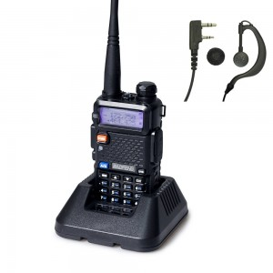 BaoFeng UV-5R Handheld Dual Band 136-174 / 400-520MHz Two Way Radio + Free Earpiece