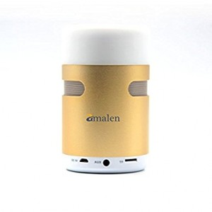 Bluetooth Speaker with LED Touch Desktop Lamp , Amalen All-in-1 Wireless Portable Speakers