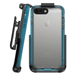"""Belt Clip Holster for Lifeproof Nuud Case - iPhone 7 Plus (5.5"""" ) by Encased (case sold separately)"""