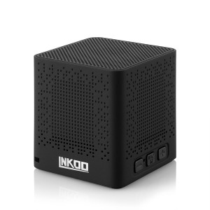 AMERTEER Classic Portable Wireless Bluetooth Mini Speaker, Powerful Sound with Enhanced Bass, Built-in Mic,Support TF Card Playing, works with iPhone,iPad,Samsung,HTC,Nexus, Laptops and More(Black)