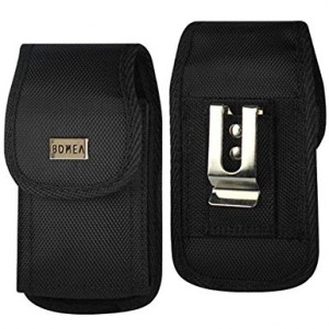Galaxy S8 Plus Belt Clip, Bomea [Rugged ] Nylon Vertical Samsung Galaxy S8 Plus Holster Case with Belt Clip Cell Phone Pouch Sleeve (For Samsung S8 Plus with another Hard Case or Bumper Case On)