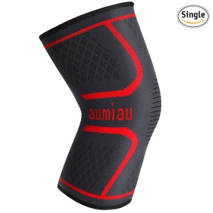 Knee Brace, Compression Knee Sleeve Support for Running, Biking, Jogging, Sports, Basketball,Joint Pain Relief, Meniscus Tear, ACL, Arthritis and Injury Recovery