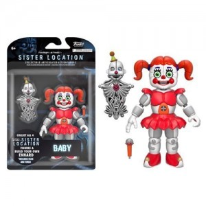 Funko Five Nights at Freddys Sister Location Build Ennard Baby Action Figure