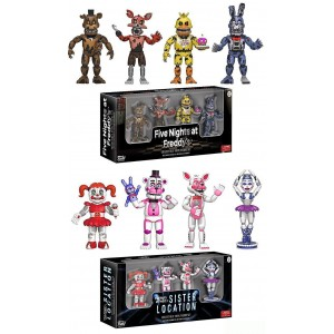 Five Nights At Freddy's Mini Figure Series 3 Set Of 8
