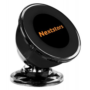 Luxury Car and Truck Bracket Magnetic, GPS Holder - 360 Degree Rotation from Dashboard –Universal Car Mount for Apple iPhone iPod Samsung Galaxy HTC Nokia Summer Edition By Nextstors
