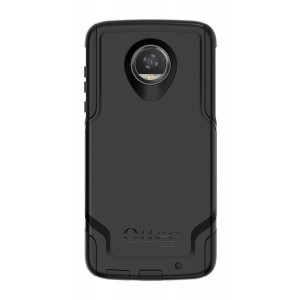 OtterBox COMMUTER SERIES for Motorola Moto Z2 Play - Retail Packaging - BLACK