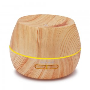 Afloia Humidifier Oil Diffuser Essential Oil Diffuser and Humidifier 300ml Aromatherapy Diffuser Ultrasonic Scented Oil Diffusers Wood Grain