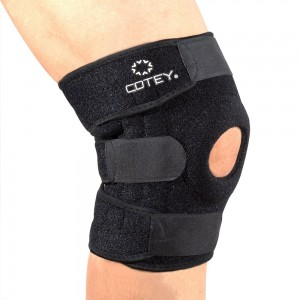 COTEY Knee Brace Protector Patella Brace Knee Support Stabilizer for Sports ( Patella Pain Relief, Cool Cotton, Stay in Place )