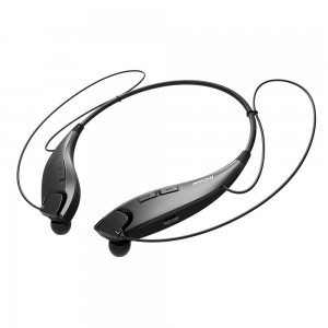 Mpow Jaws [Gen-3] Bluetooth Headphones Call Vibrate Alert Wireless Neckband Headset Stereo Noise Reduction Earbuds w/ Mic