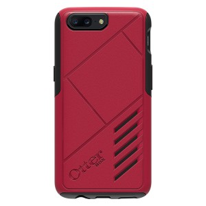 OtterBox ACHIEVER SERIES Case for OnePlus 5 - Retail Packaging - NIGHTFIRE (RED/BLACK)